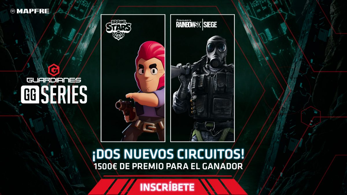 LVP refuerza las Guardianes GGSeries con Brawl Stars y Rainbow Six